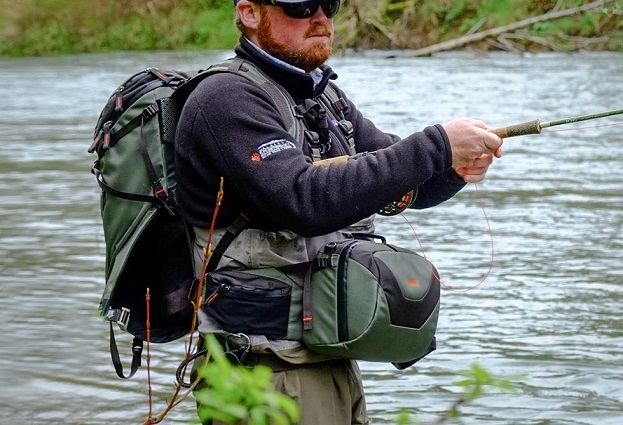 When you go fishing you need a backpack it 39 s a fact for It s about the cross go fish