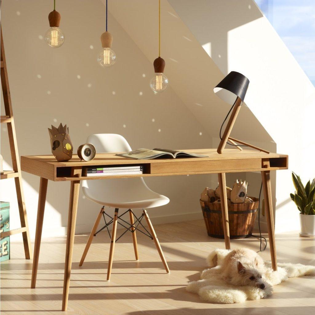 scanidinavian style desk