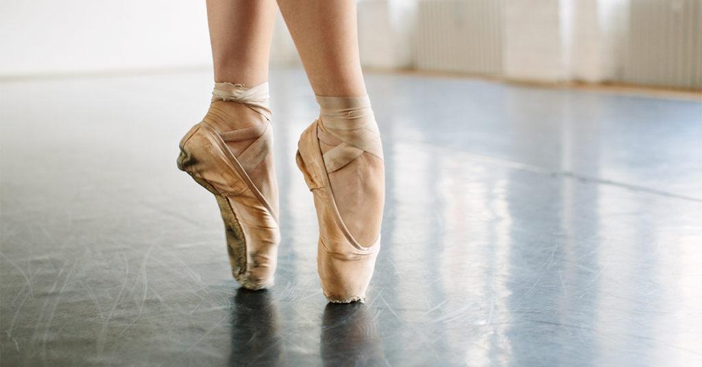 Ballerina Feet Ballet Shoes