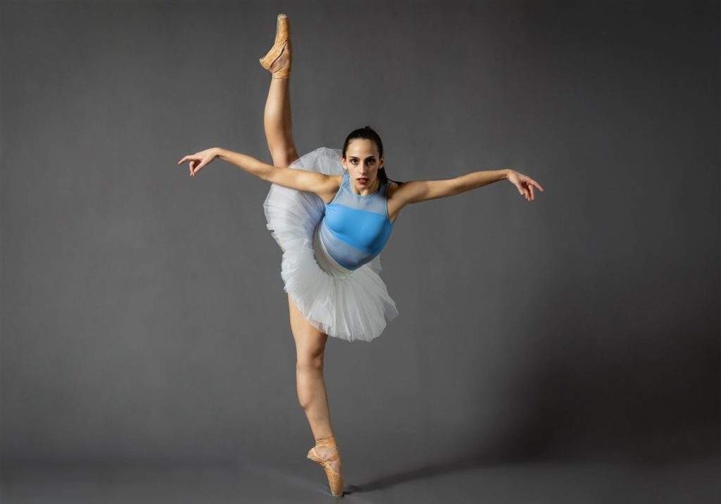 Flying and Falling Ballet Shoes