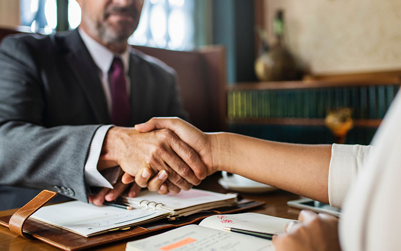 making a deal about insurance broking
