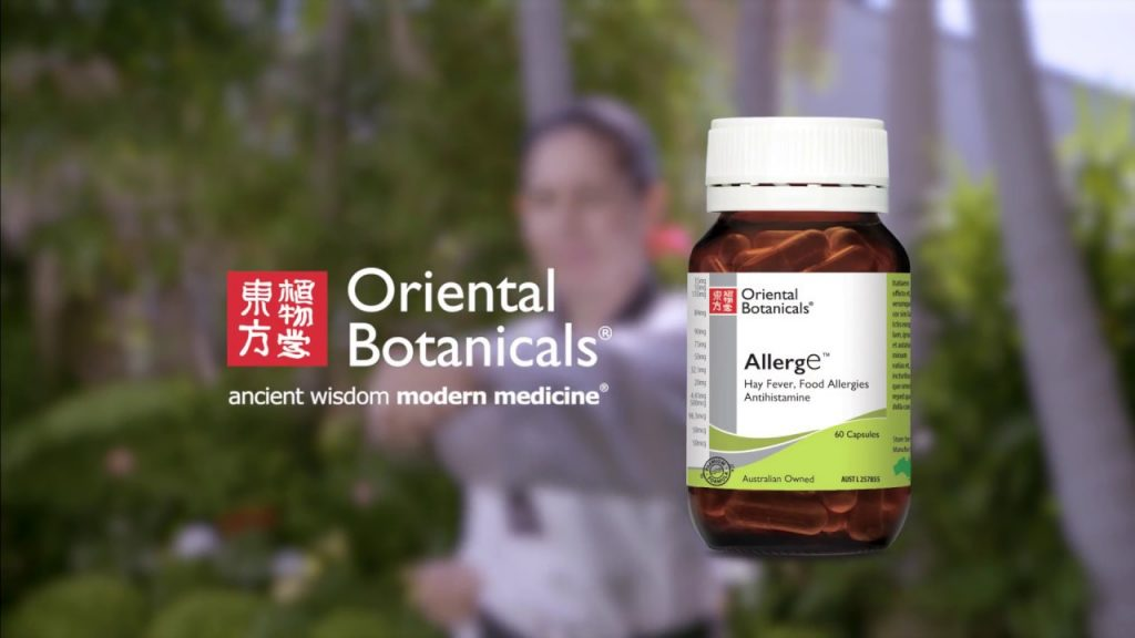 natural relief from symptomes oriental bothanical