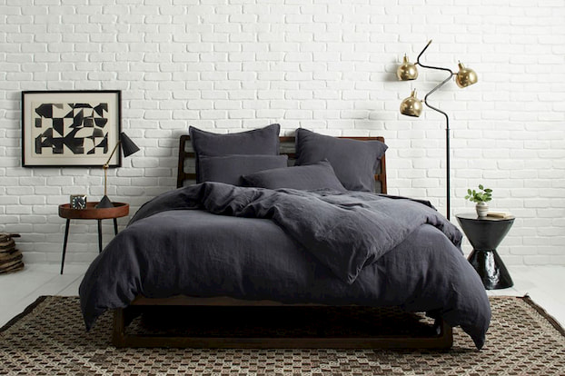 black bamboo bedding