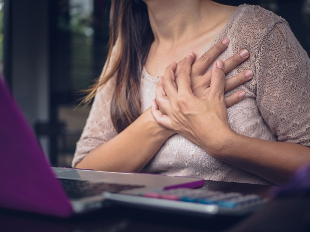 sitting increases chances of getting a heart attack