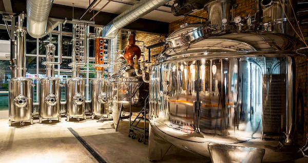 vodka distilling process