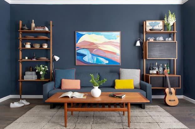 home vintage design for living room