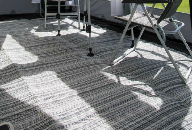 rugs for underfoot comfort caravan awning