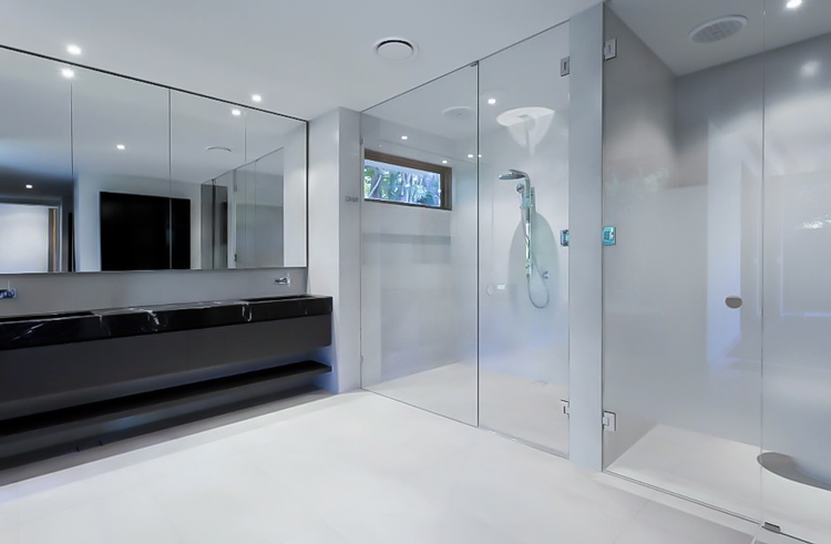 shower screen double glass bathroom suplly