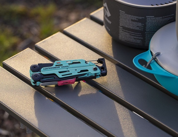 Close-up of multitool