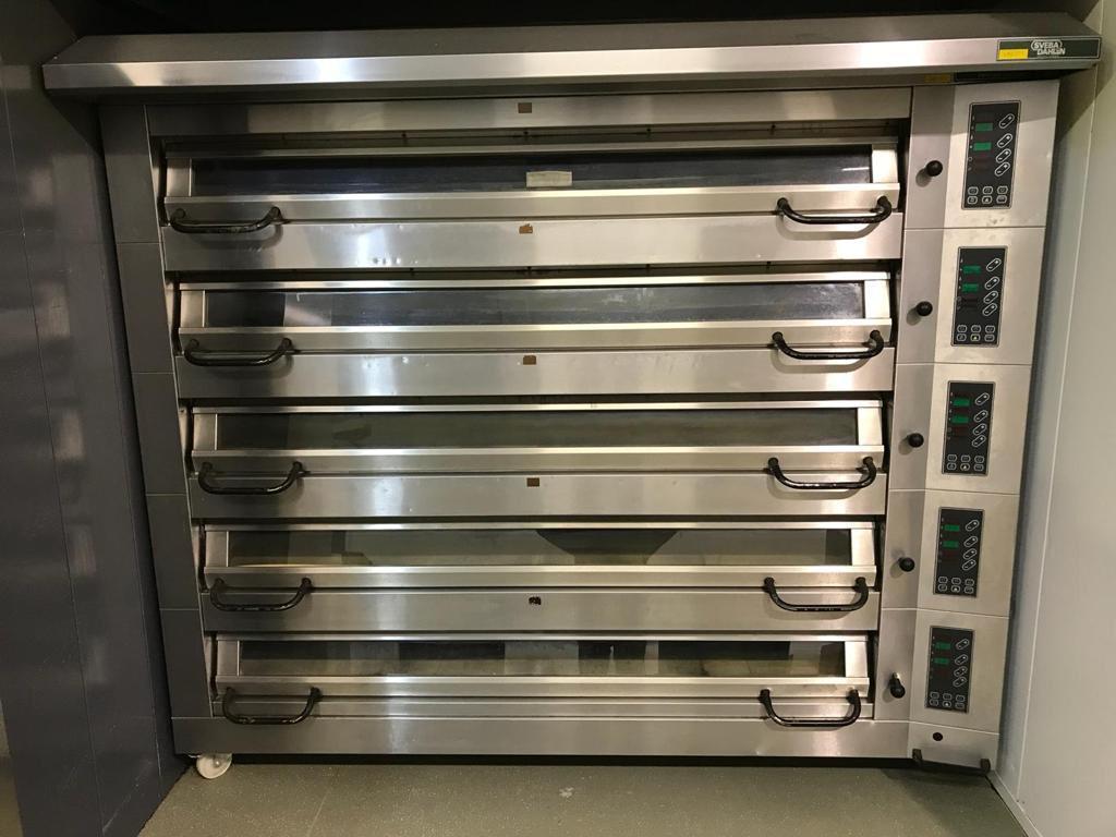 deck oven baking equipment