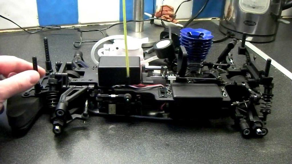 building nitro rc car kit