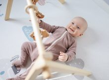 picture of a baby on a playmat