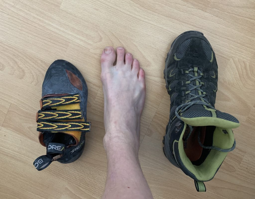 Rock Climbing Shoes fit