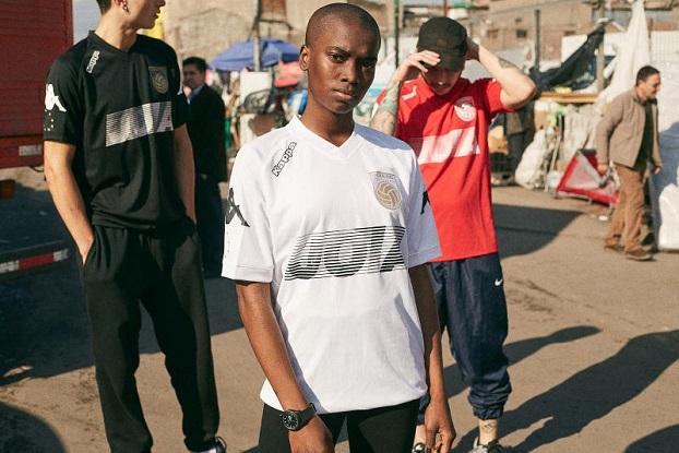 boy wearing kappa jersey